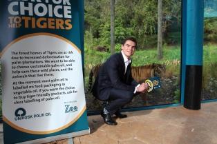 Ben Dowdle at Wellington Zoo